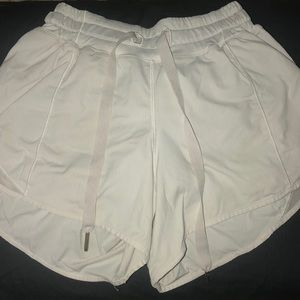 Lulu lemon athletica white shorts